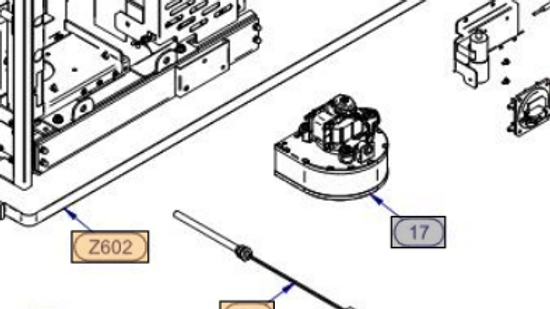 RT52030060 VENTILATORE RDL85/3400 C/RIV. MONT. SC68