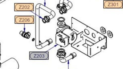 RF02033460 CIRCOLATORE UPSO 25-55/130 H9 C/MOLEX