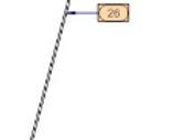 RF01071920SCOVOLO POLIAMIDE D.40 H=1200 1647