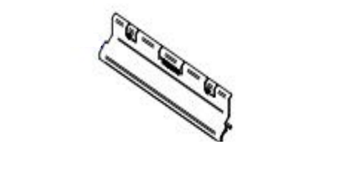 Deflector superior cortina aire 11KW. RT57030340
