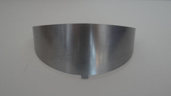 Deflector de brasero 15kw. Estufa pellets Piazzetta.  RG07030710