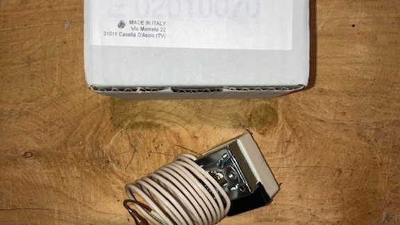RF02031710 TERM. SICUR. 80° +/-3°TU.V ST+PVC L=1500