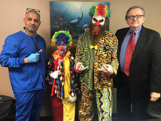 8 Ball Clown Visits Psychologist