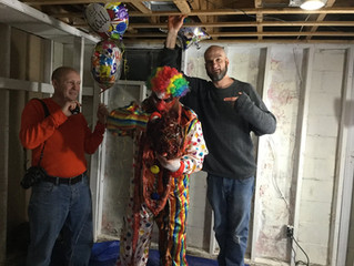 8 Ball Clown II behind the scenes