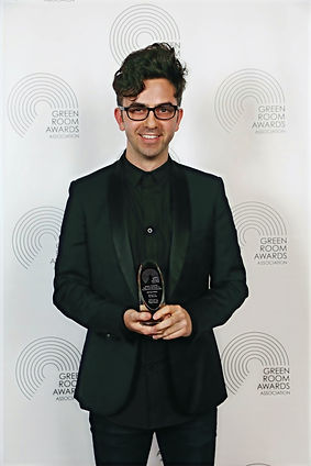 Michael Ralph at the Green Room Awards at Melbournes Comedy Theatre
