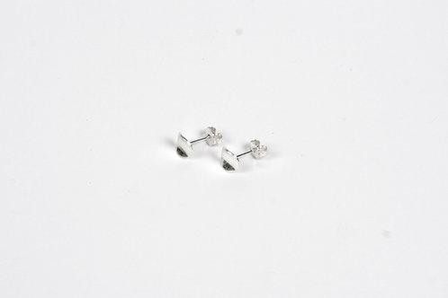 Stud Earrings: Leaf