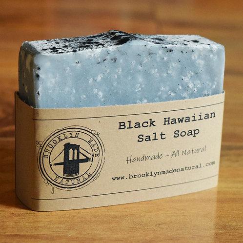 Black Hawaiian Sea Salt Bath Bar