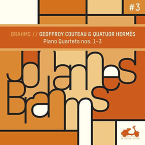 Cover Brahms piano quartet