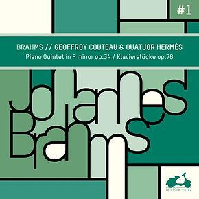 Cover Brahms piano quintet