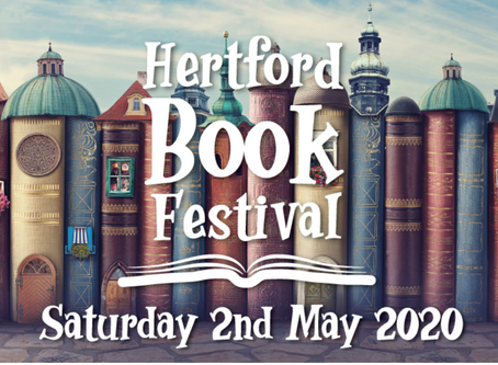 You're invited... to the Hertford Book Festival!
