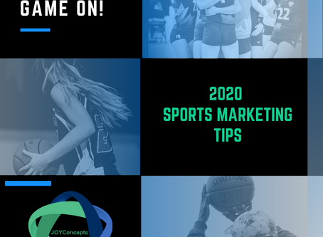 Five sports marketing tips for 2020 - an amazing sports year!