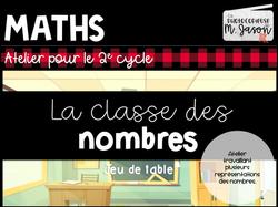 Maths //La classe des nombres