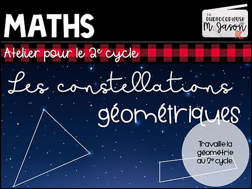Atelier maths: Les constellations géométriques //2e cycle