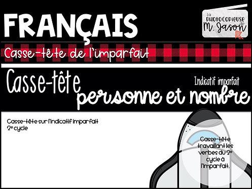 Atelier français: Casse-tête de l'imparfait