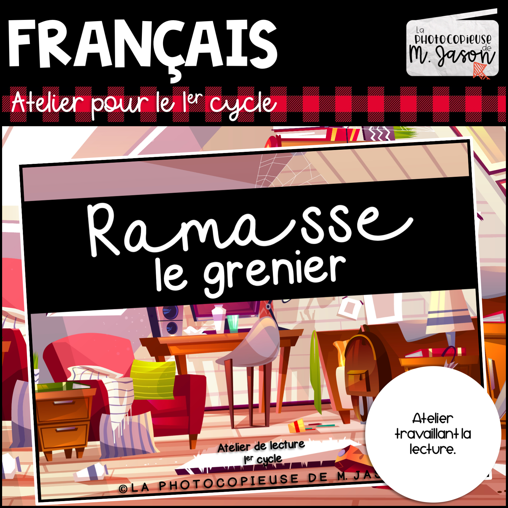 Lecture // Ramasse le grenier
