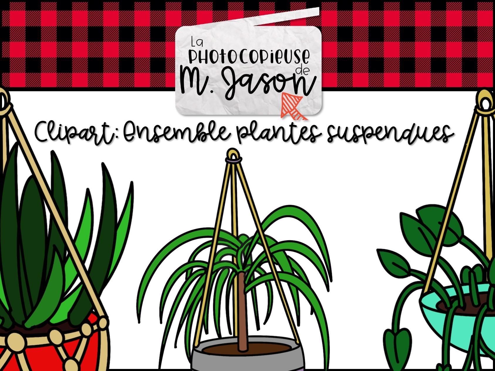 Clipart: Plantes suspendues