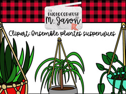 Clipart: Plantes suspendues