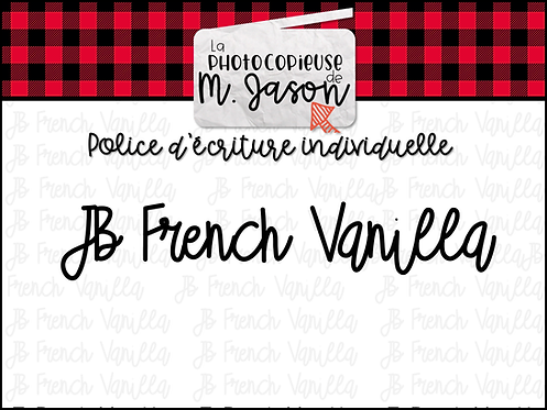 Polices JB // JB French Vanilla