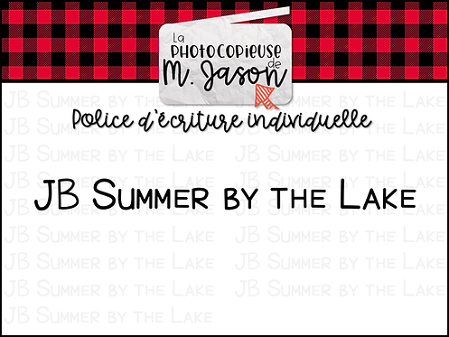 Polices JB // JB Summer by the Lake
