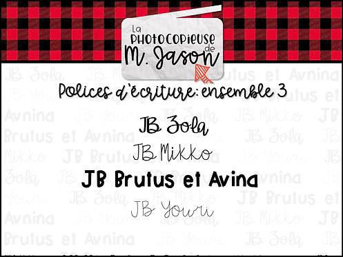 Polices JB // Ensemble 3