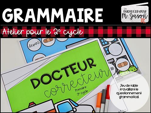 Atelier Français: Docteur Correcteur