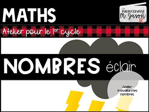 Atelier maths: Nombres éclairs // 1re année