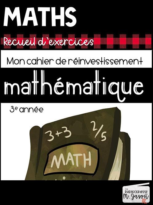 Maths: Recueil d'exercices // 2e cycle