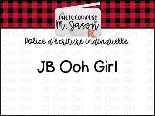 Polices JB // JB Ooh Girl