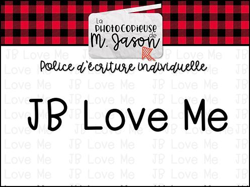 Polices JB // JB Love Me