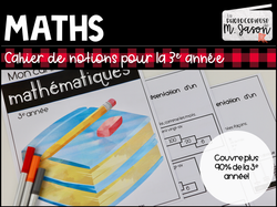 Mathématiques: Cahier de notion