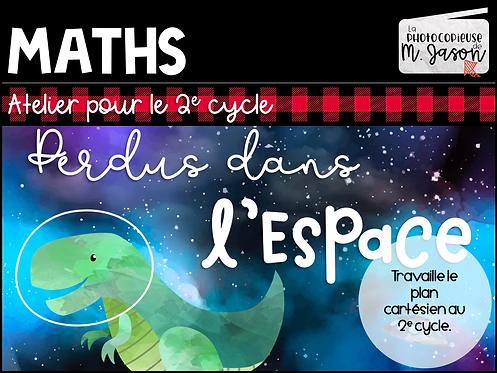 Atelier maths: Perdus dans l'espace