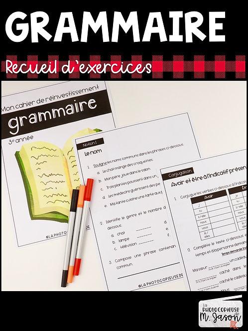 Français: Recueil d'exercices // 2e cycle