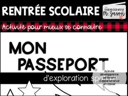 Rentrée scolaire: Passeport spatial // 1er cycle