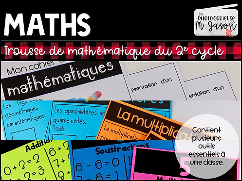Trousse de maths // 2e cycle