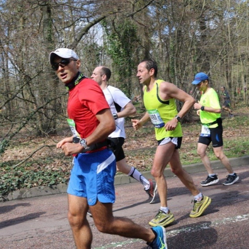 Paris Marathon 2016 last few kms