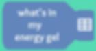 Logo of Whats In My Energy Gel
