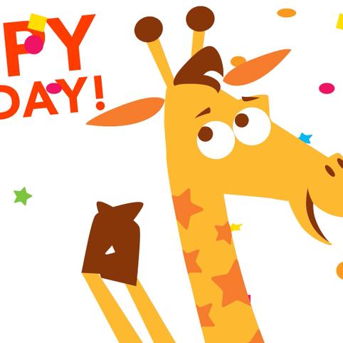 Geoffrey Birthday Club Greeting