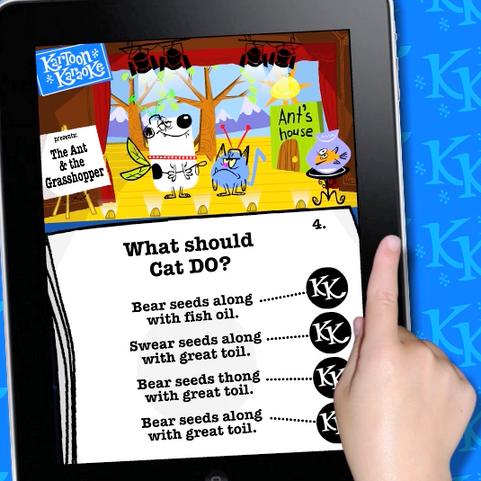 Kartoon Karaoke App