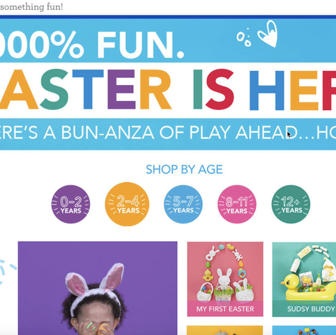 """""""Easter"""" Landing Page"""