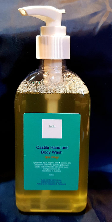 Castile Hand and Body Wash