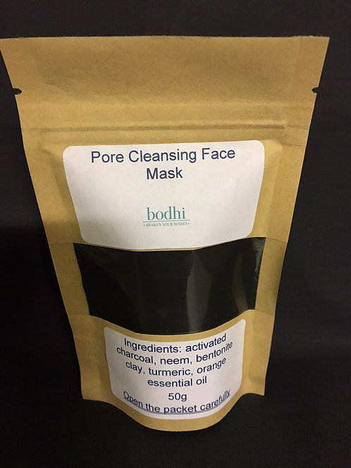 Pore cleansing face mask