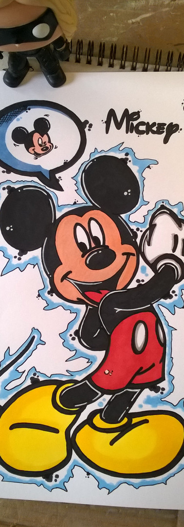 REPRODUCTION A4 DISNEY