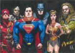 justice league caricature