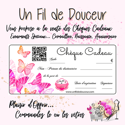 CHEQUE CADEAU EVENTS