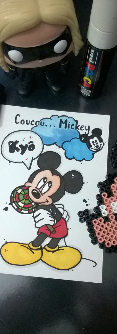 REPRODUCTION A6 DISNEY
