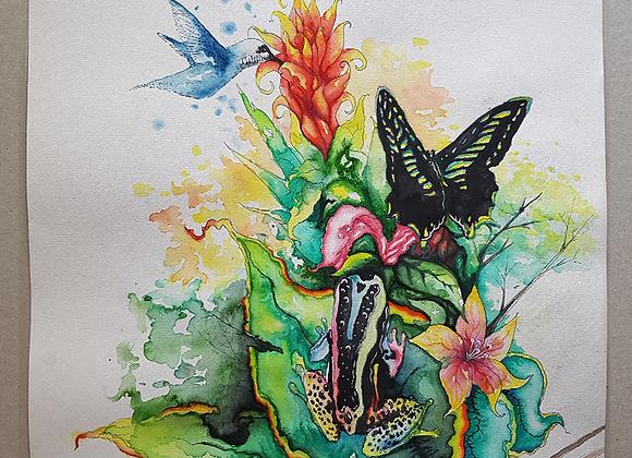 Exotic Nr.3 - Nectar - Fine Art Print