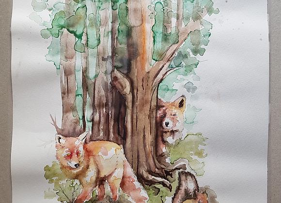 Woodlands - Fine Art Print