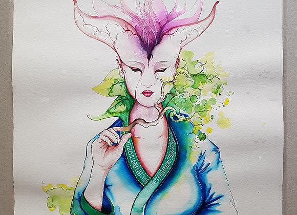 Sprout Nr.1 - Gaia - Fine Art Print