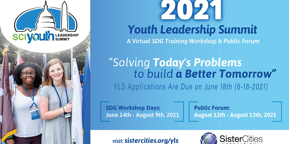 NOTE CHANGES:  2021 YLS applications are due on June 18, 2021 (6-18-21)!