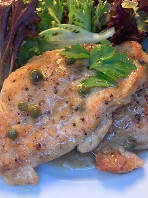Chicken Piccata (Jan. 21)